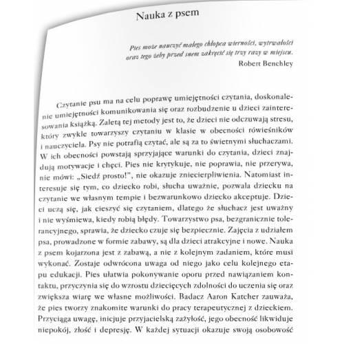 produkt - Dogoterapia we wspomaganiu nauki i usprawnianiu techniki czytania