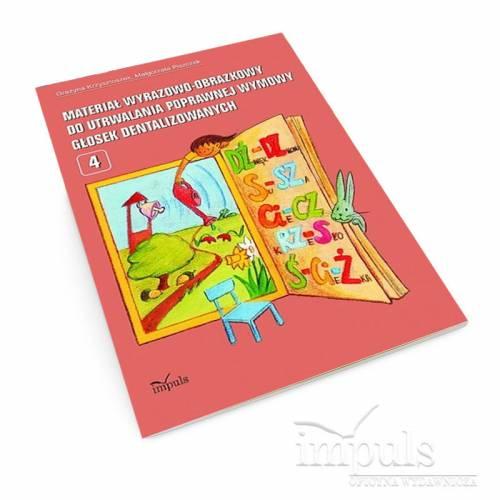 Materiał wyrazowo-obrazkowy do utrwalania poprawnej wymowy głosek dentalizowanych