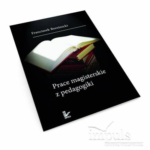 produkt - Prace magisterskie z pedagogiki