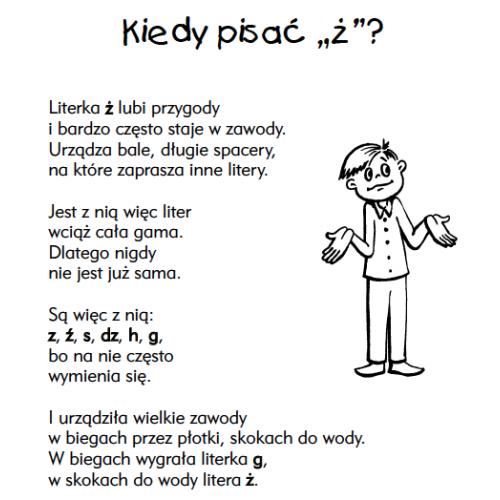 produkt - Jak przez wiersze ortografia szybko nam do głowy trafia