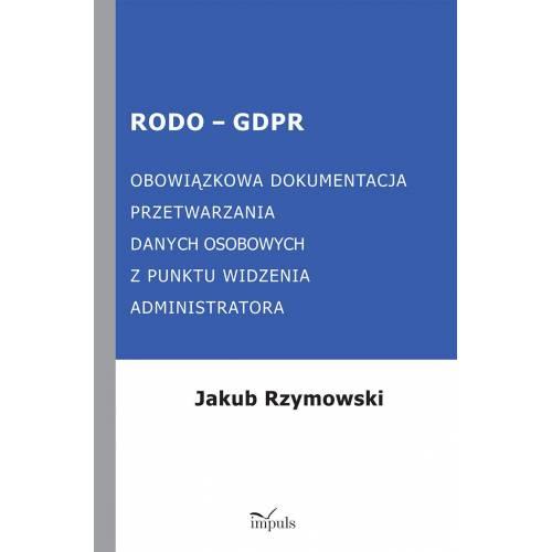 produkt - RODO - GDPR