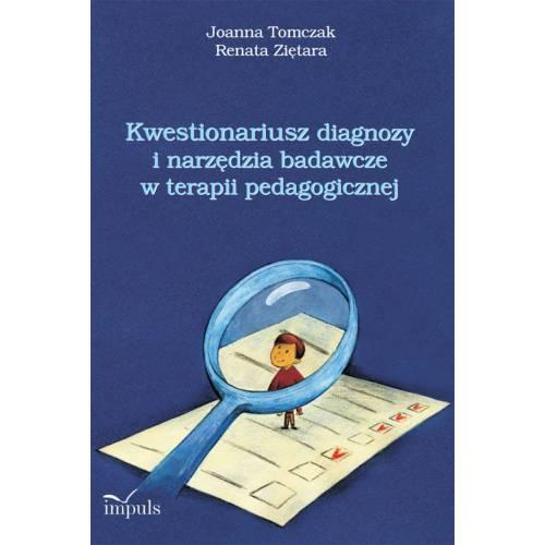 produkt - Kwestionariusz diagnozy i narzędzia badawcze w terapii pedagogicznej
