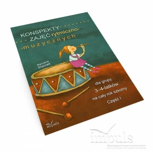 Konspekty zajęć rytmiczno-muzycznych dla grupy 3-4-latków na cały rok szkolny