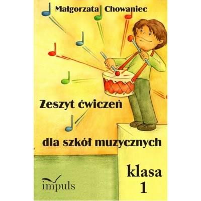 Zeszyt ćwiczeń dla szkół muzycznych. Klasa 1