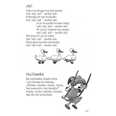 Niepoważne wierszyki do utrwalania wymowy i pisowni głosek: ś, ź, ć, dź, s, z, c, dz, sz, ż, cz, dż