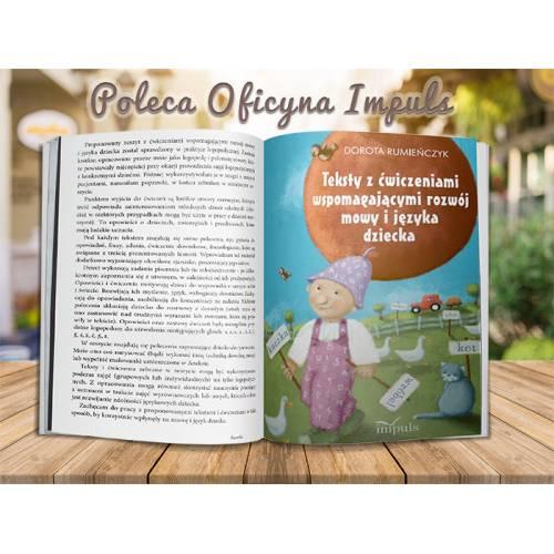 produkt - Teksty z ćwiczeniami wspomagającymi rozwój mowy i języka dziecka