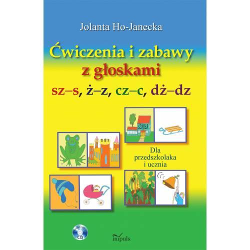 produkt - Ćwiczenia i zabawy z głoskami sz–s, ż–z, cz–c, dż–dz