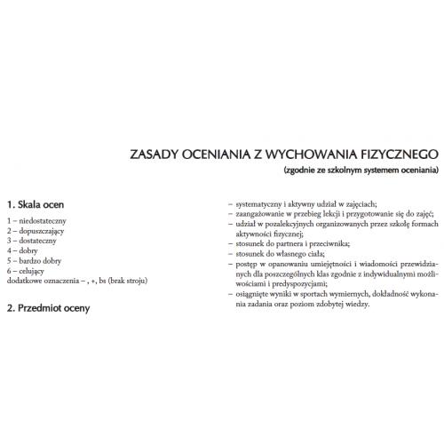 produkt - Plan pracy WF dla klasy IV i VII