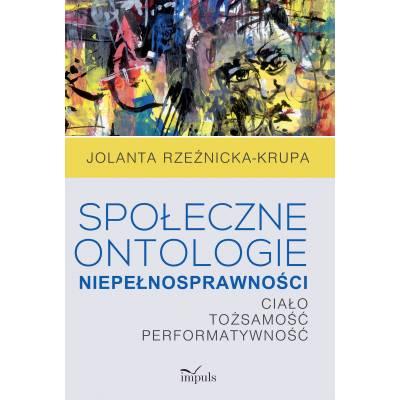 Społeczne ontologie niepełnosprawności
