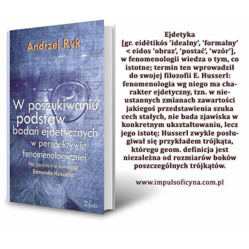 produkt - W poszukiwaniu podstaw badań ejdetycznych w perspektywie fenomenologicznej