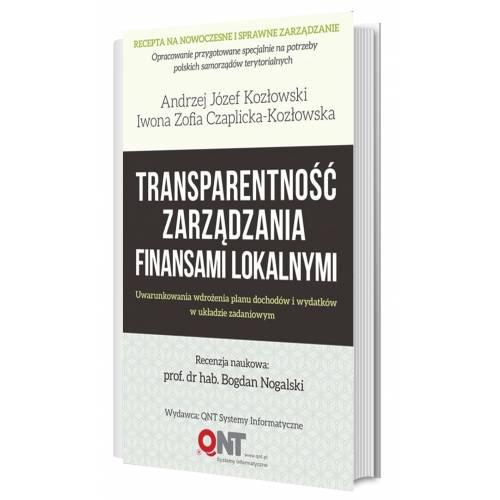 produkt - Transparentność zarządzania finansami lokalnymi