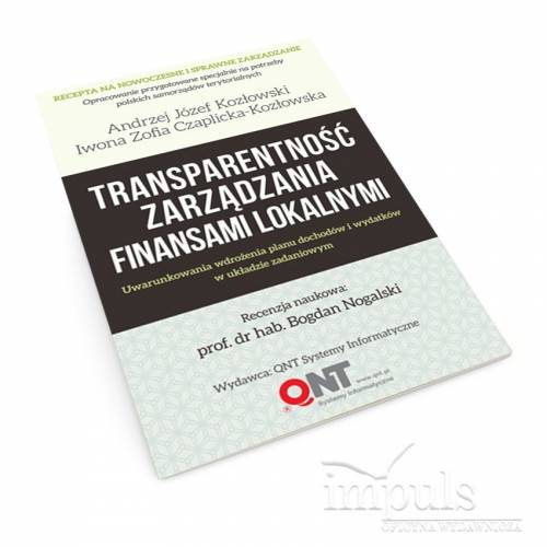 Transparentność zarządzania finansami lokalnymi