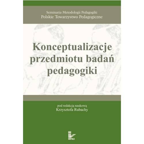 produkt - Konceptualizacje przedmiotu badań pedagogiki