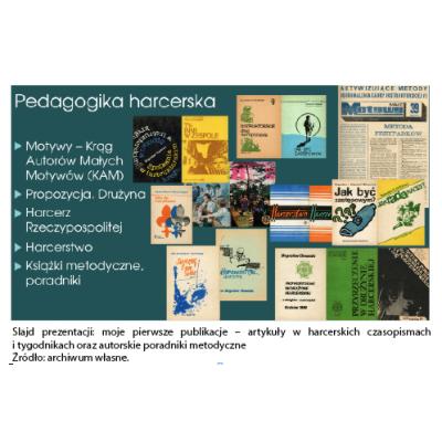 HARCERSTWO źródłem pedagogicznej pasji