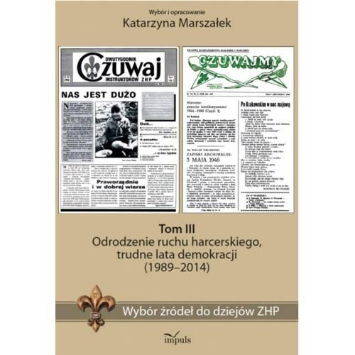 """produkt - Oficyna Wydawnicza """"Impuls"""" poleca serię autorstwa Katarzyny Marszałek pt. Wybór źródeł do dziejów ZHP oraz serię książek autork"""