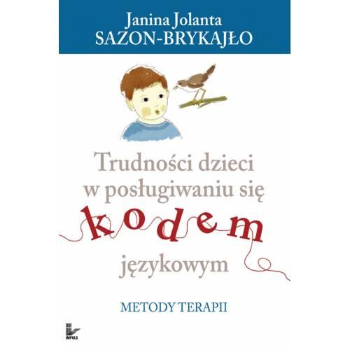 produkt - Trudności dzieci w posługiwaniu się kodem językowym