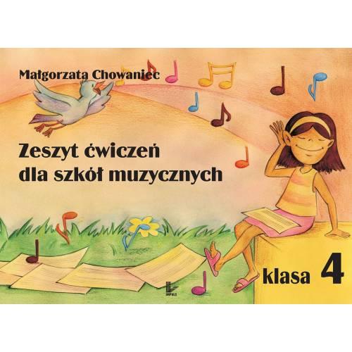produkt - Zeszyt ćwiczeń dla szkół muzycznych. Klasa 4