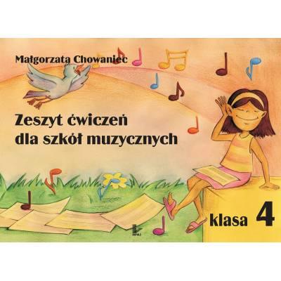 Zeszyt ćwiczeń dla szkół muzycznych. Klasa 4