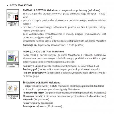 Makaton – system wspomagania komunikacji gestem i obrazem