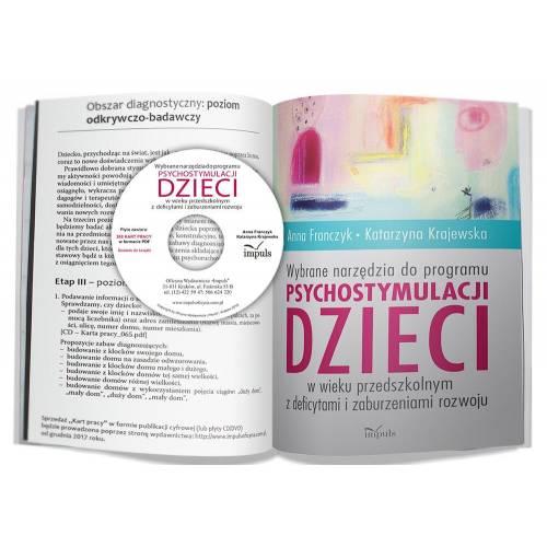 produkt - Wybrane narzędzia do programu psychostymulacji dzieci w wieku przedszkolnym z deficytami i zaburzeniami rozwoju