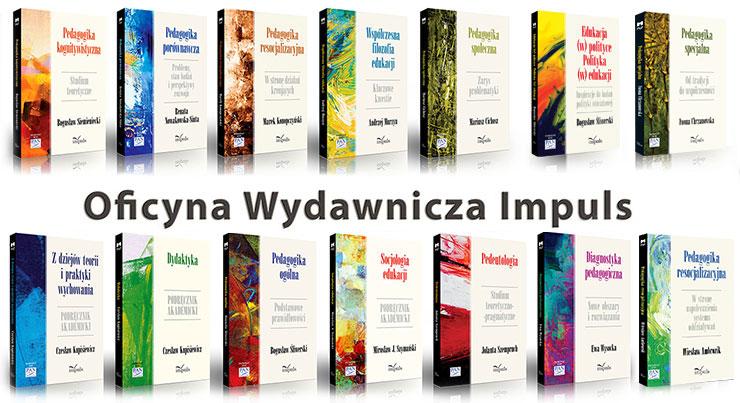 seria 17 autorskich podręczników akademickich Pedagogika Nauce i Praktyce