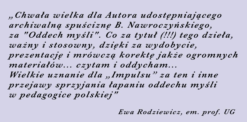 prof. Ewa Rodziewicz
