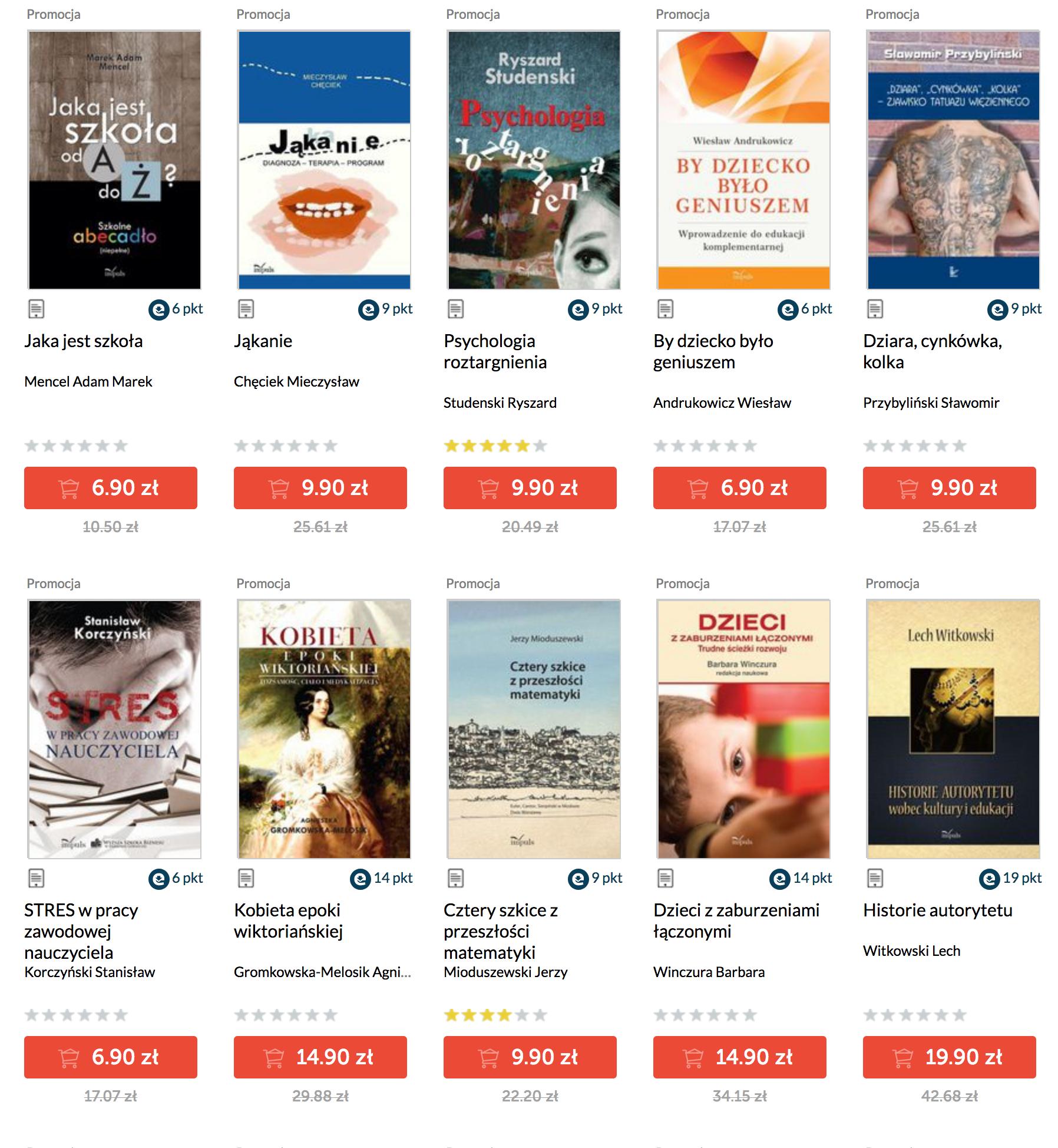 promocja e-book Impuls