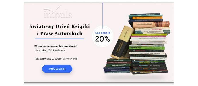 Światowy Dzień Książki i Praw Autorskich – 23.04