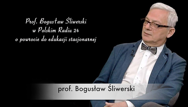 Prof. Bogusław Śliwerski o korzyściach nauki hybrydowej