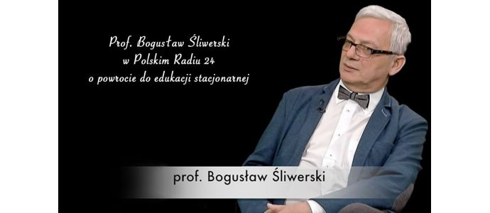 Prof. Bogusław Śliwerski o korzyściach nauki hybrydowej